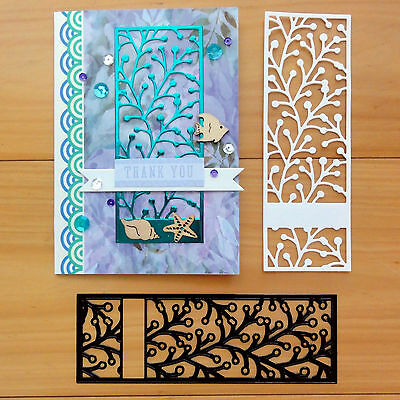 Couture Creations Holly Berry Screen Botanical Cutting Die - Bnip