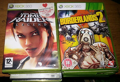 Joblot Xbox 360 Games X12 All Listed