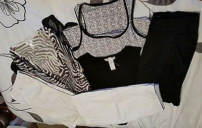 Lot of 6 womens spring/summer clothing sz. med and 12