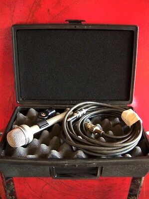 Vintage 1980's Electro Voice RE-18 dynamic microphone used vocals w accessories