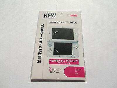 Nintendo 3DS XL LL NEW Screen protectors! Fast shipping from Canada! Brand New