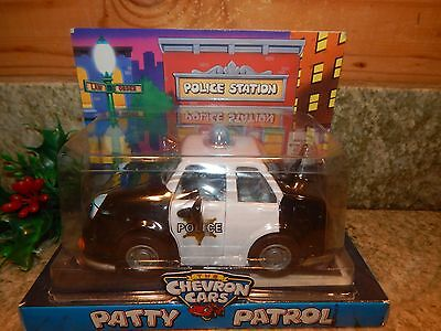 The Chevron Collectible Cars Patty Police Patrol Toy Car 1997 New in Box