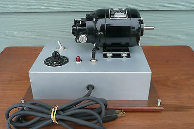 BODINE Electric Company NSH-12R Gear Speed Reducer Motor 1725 RPM 115V 1/70 HP