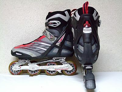 Men's Rollerblade Astro 50 Trainng soft boot inline SG 7 bearings skates sz 12
