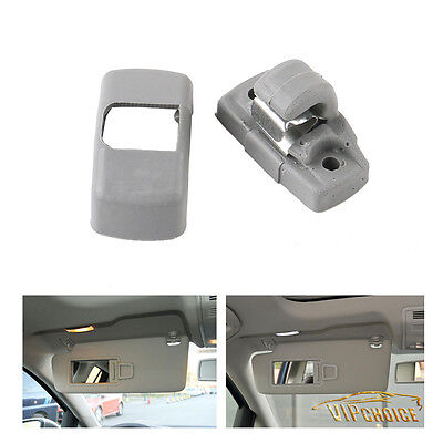 For 98-11 VW Jetta Golf Mk4 R32 Passat Beetle Eos Gray Plastic Sun Visor Clip
