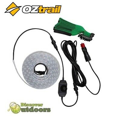 New OZtrail 5m LED Multi-Colour Strip Light - Camping Awning Annexe Tent 600L