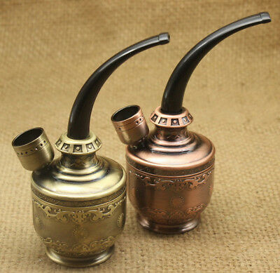 Water Smoking Durable Pipe Shisha Hookah Tobacco Pipes Holder Cigarette Filter