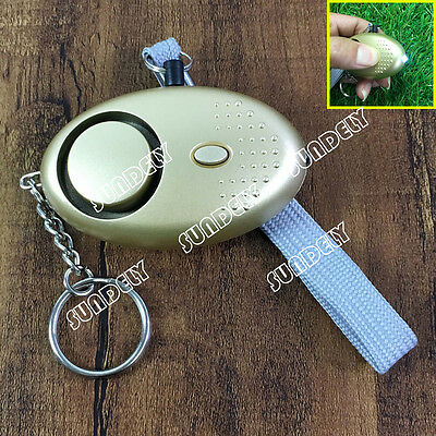 Australia Champagne Personal Panic Rape Attack Safety Security Alarm Torch 150db