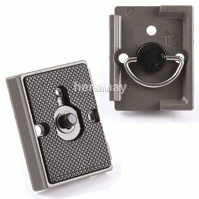 Quick Release Plate for Manfrotto Tripod Ballhead 804RC2 484RC2 391RC2 322RC2