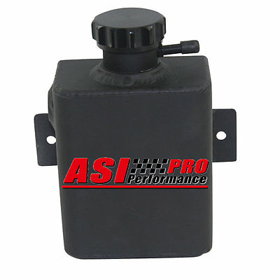 PRO ALUMINUM COOLANT EXPANSION CATCH Can TANK +BILLET CAP UNIVERSAL FABRICATED