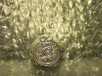 "Governors Of Tabaristan Abbasid 740-761 AR Khurshid Silver Coin ""Clipped"""