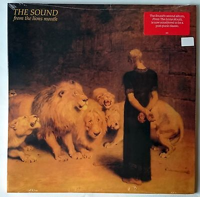 The Sound - From The Lions Mouth - Lp 1981 / 2012 - Gatefold Cover - New Sealed