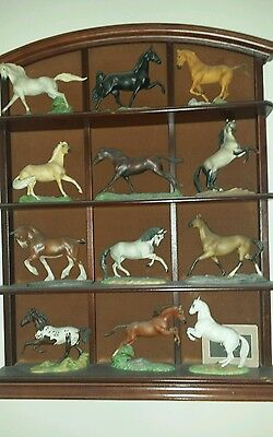 REDUCED Franklin mint great horses of the world complete set