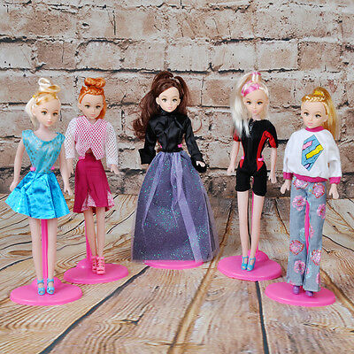 10x Stand Support Prop Up Mannequin Model Display Holders for Barbie Dolls Toy