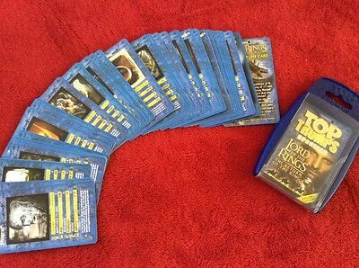 Lord of the Rings. Top Trumps. collectors item. trading cards