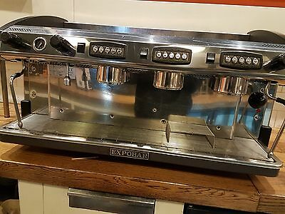 Elegance Expobar  3- Group Espresso Coffee Machine