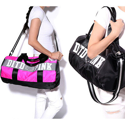 Women's Fashion Gym Sports Travel Bag Daypack Duffle Pack Shoulder Bag Handbag