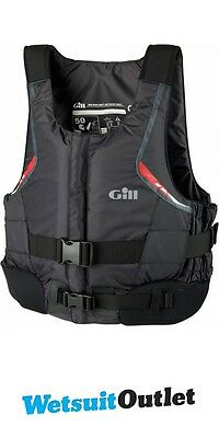 2015 Gill Pro Racer Front Zip Buoyancy Aid Graphite 4917