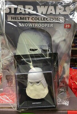 STAR WARS Helmet Collection Issue 29 SNOWTROOPER Imperial Soldier DeAgostini PW