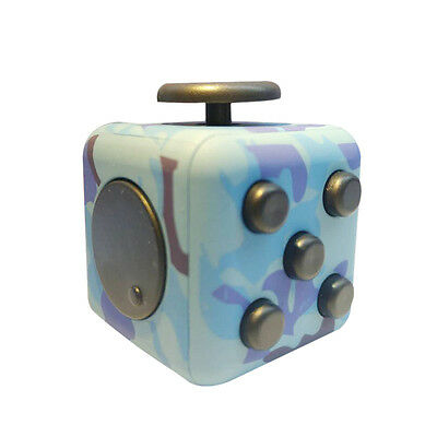 Hot Fidget Cube Relief Toy Adults Focus Stress Magic Anti-anxiety Kids New Gift