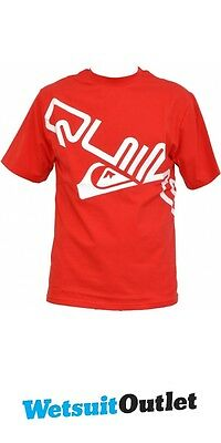 Quiksilver Slash Technical Surf Tee RED