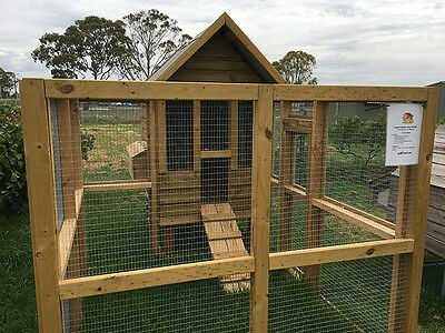 Australian Made Large Chicken Coop Brand New!