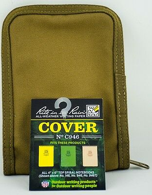 Rite in the Rain C946 Cordura Notebook Cover Original Bag New Bag