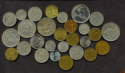 28 Guatemala DIFFERENT COINS, DIFFERENT CONDITION!!