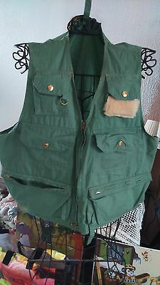 gilet  fishing wear  olympic de peche taille L
