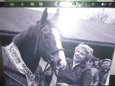 2 Personally Signed Photos  Of  Jenny Pitman  Winning The Grand National