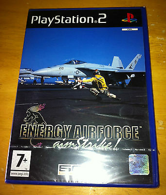 Energy Airforce Aim Strike for Sony PlayStation PS2 New