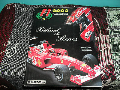 F1 2002 Behind The Scenes - Hb Dj Book - Photographic Review - Ted Smart