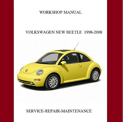 New Volkswagen Beetle Workshop Service Repair Manual 1998-2008 Auto