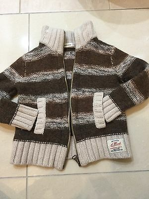 COUNTRY ROAD Lambswool Boy Toddler Jacket -Size 4