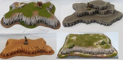 Wargaming Hills Scenery Terrain Suitable For Warhammer, Warmachine, Malifaux