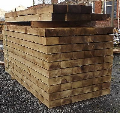 NEW TIMBER LANDSCAPING SLEEPERS PRESSURE TREATED 2.4x200x100 - CAN DELIVER*