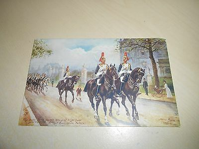 Early Tuck Oilette Pc - Harry Payne - Royal Horse Guards, Whitehall - Vgc