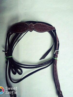 western tack rodeo cowboy leather horse designer headstall reins,breastplate