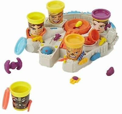Play-Doh Star Wars Millennium Falcon Featuring Can-Heads Brand NEW