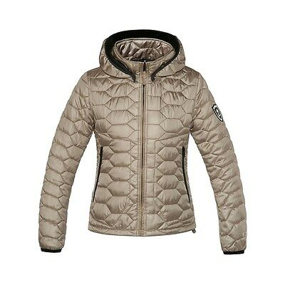 Kingsland Shade Quilted Jacket (153-OW-204) 116 Pale Gold / 090 Black