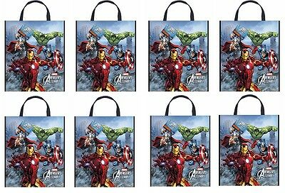 """8 Ct. Avengers Party Tote Bag 13"""" x 11"""""""