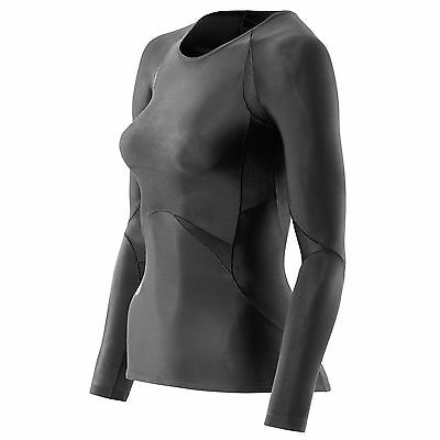 BNIB Skins Womens Compression Baselayer RY400 Recovery Long Sleeve Top Size S