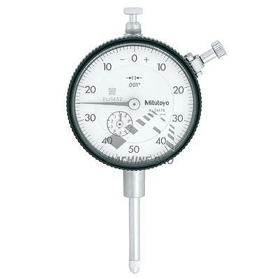 "Mitutoyo 2417S Plunger Dial Indicator 1"" Gauge Test Inspection"