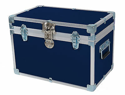 British Mossman Strong Boarding School Cabin Stool Box - Storage Trunk - Luggage