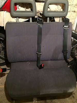 Van rear seats bench, with seat belts, from Transit