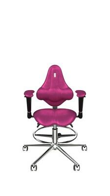 Pink Ergonomic baby armchair Kids, Hand-crafted Ecologically clean,for 4-8 years