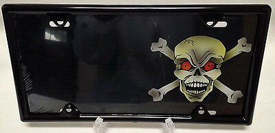 License Plate Covers & Frames Skull Offset Airbrush License Plate Free Personalization on this Air Brush License Plate Covers & Frames