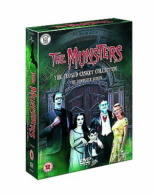 The Munsters Complete Series Collection Seasons 1 2 New Dvd Region 2 4 Boxset