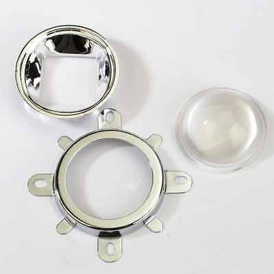 44mm Lens + 50mm Reflector Collimator Base Housing + Fixed bracket for 100W L...