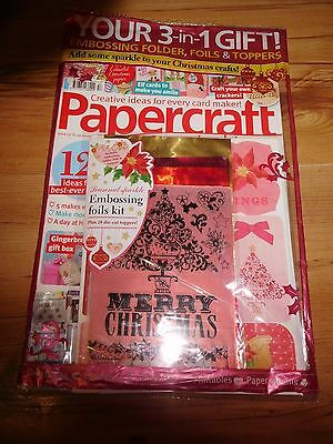 Papercraft inspirations Magazine Issue 157 Nov 2016 With Free Gifts RRP £5.99